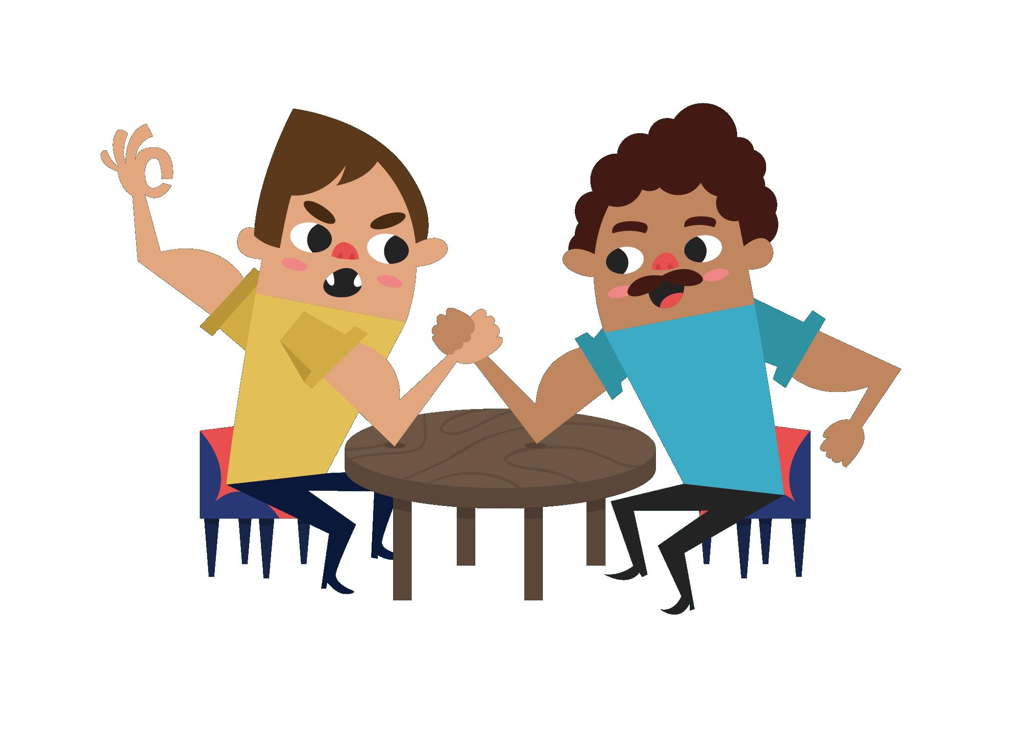 Conversation clipart family conversation. Clip art arm wrestling