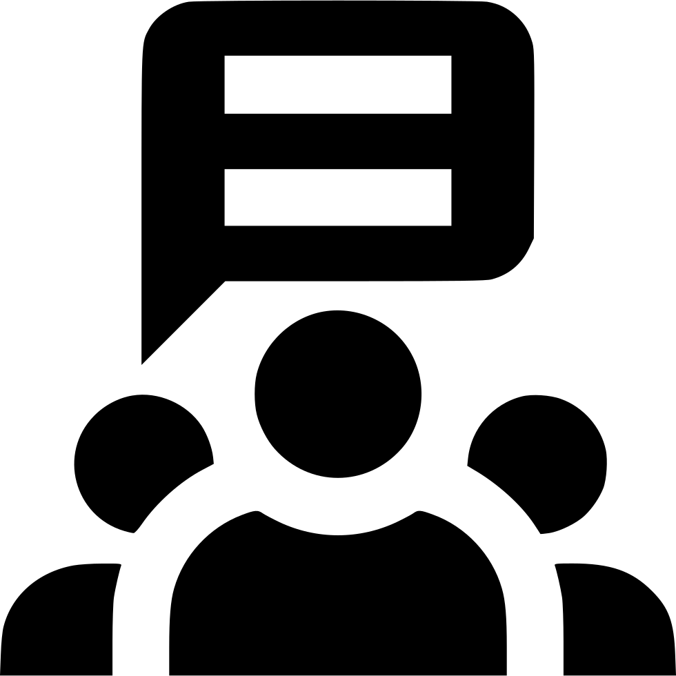 Group Conversation Svg Png Icon Free Download