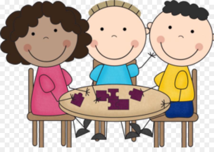Friendship cartoon student child. Conversation clipart group work