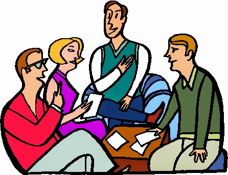 Conversation clipart group work. Free cliparts download clip