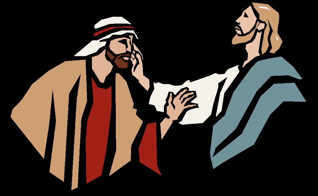 Escuchar y como dios. Conversation clipart hablar