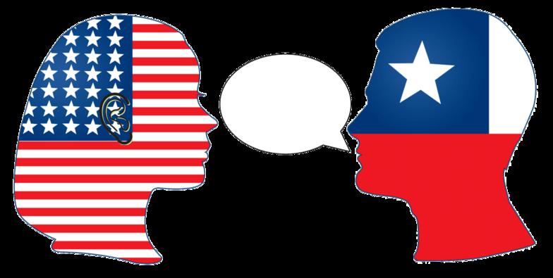 Conversation clipart hablar. Classes muchos ariquenos pueden