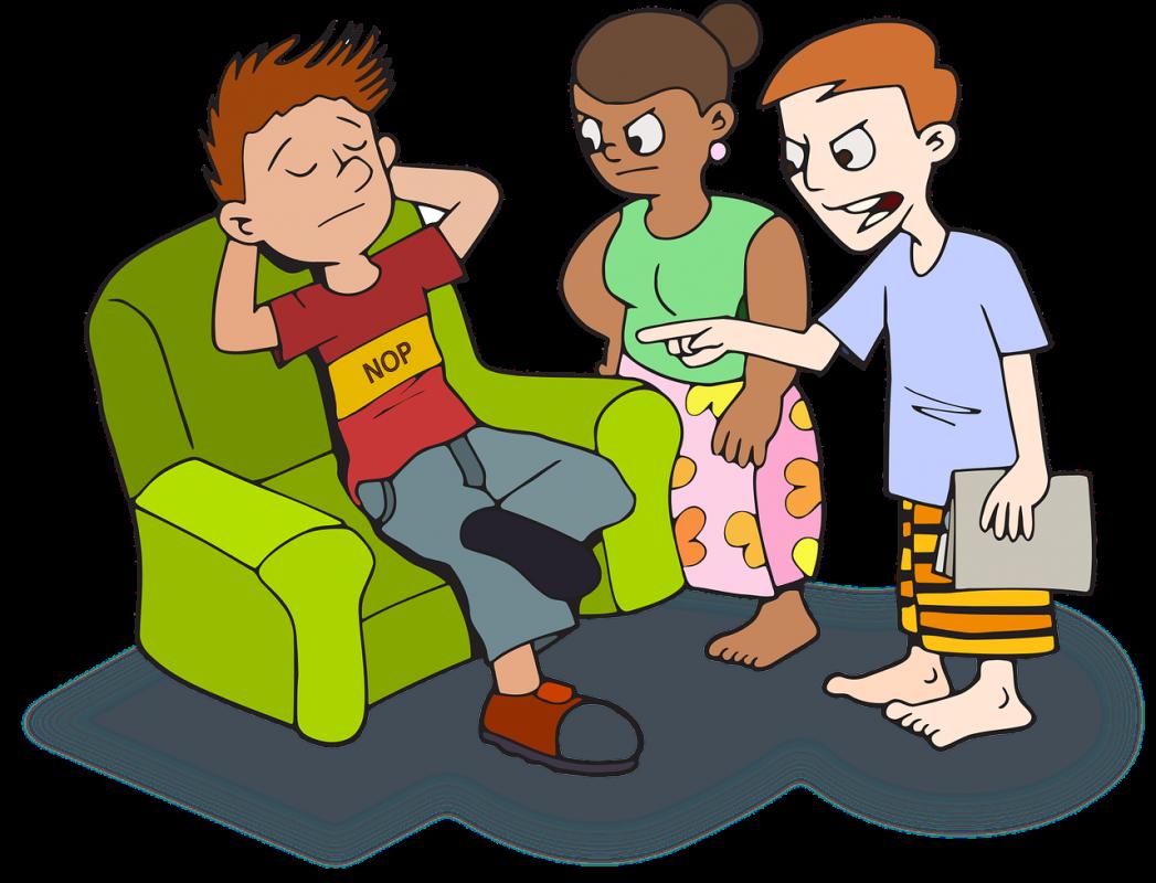 Adolescentes y consumo de. Conversation clipart hablar