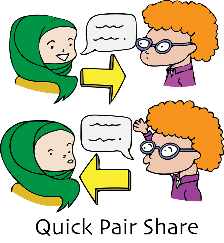 Working clipart team. In pairs with teams
