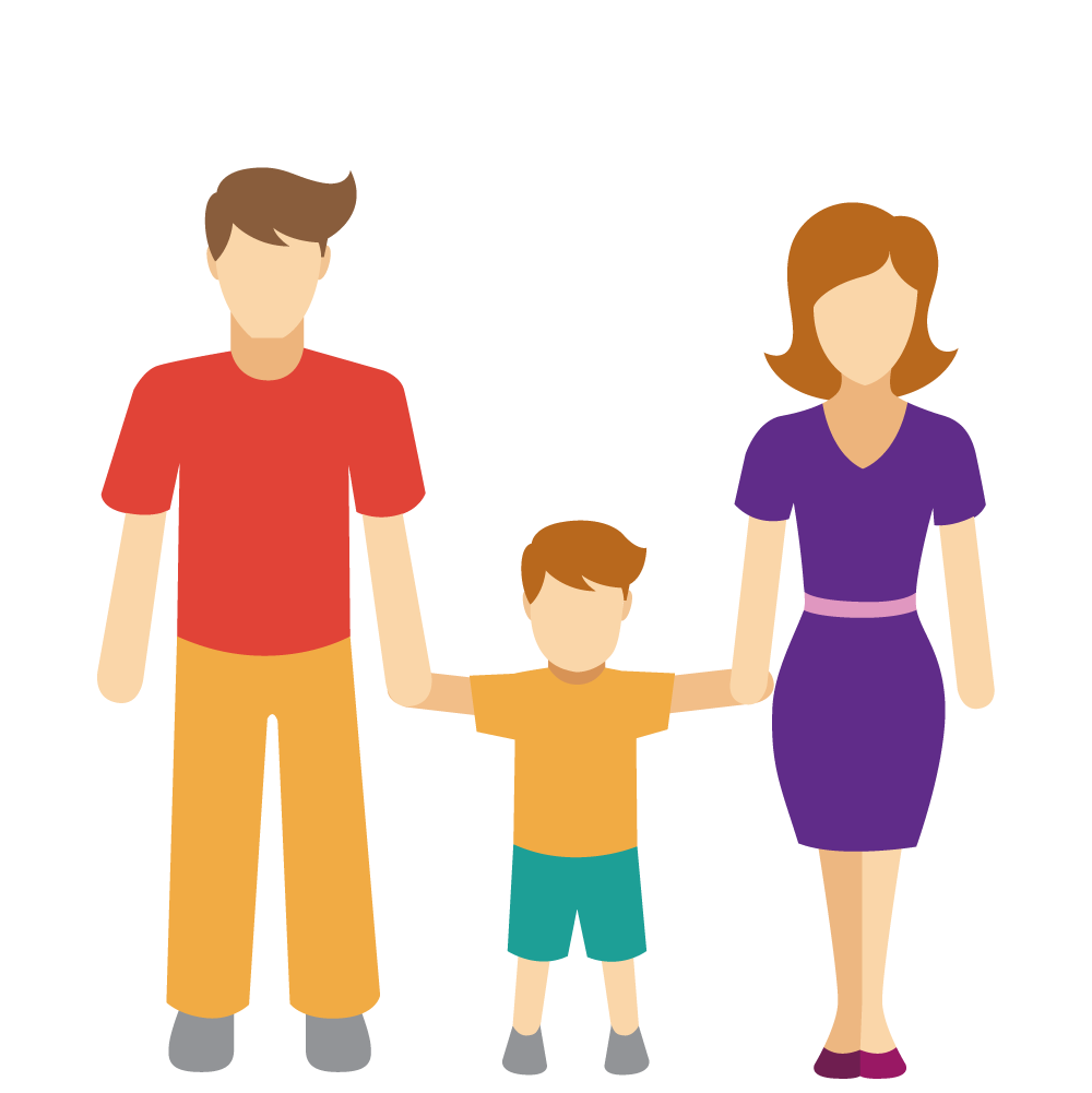 Conversation clipart interpersonal communication. Family relationship icon he