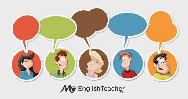 Conversation clipart language skill.  ways to immediately