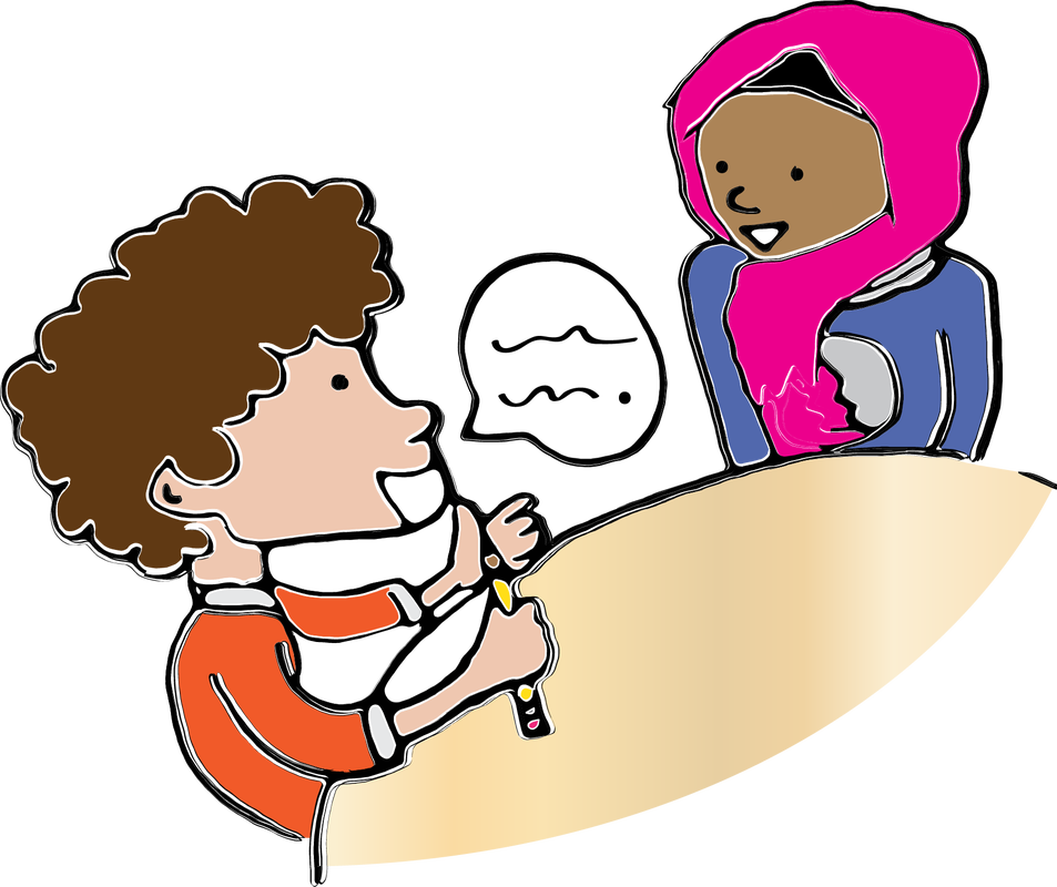 Conversation clipart partner share. Timed pair the cooperative