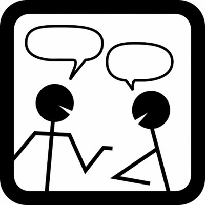 Conversation clipart partner share. Free talk cliparts download