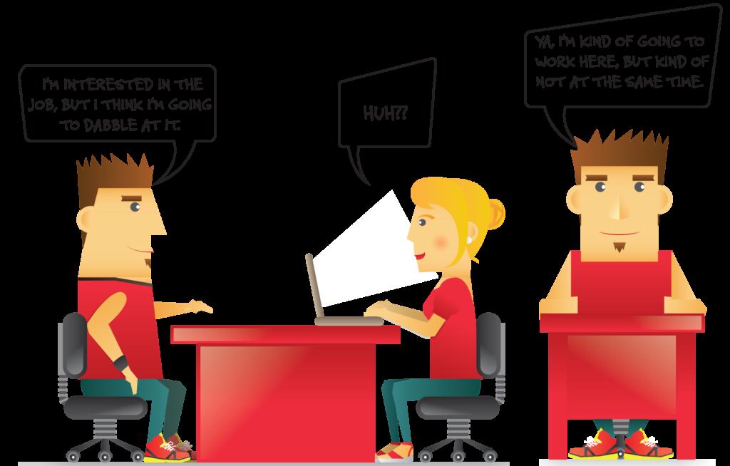 Blog forever interview. Jobs clipart jobless