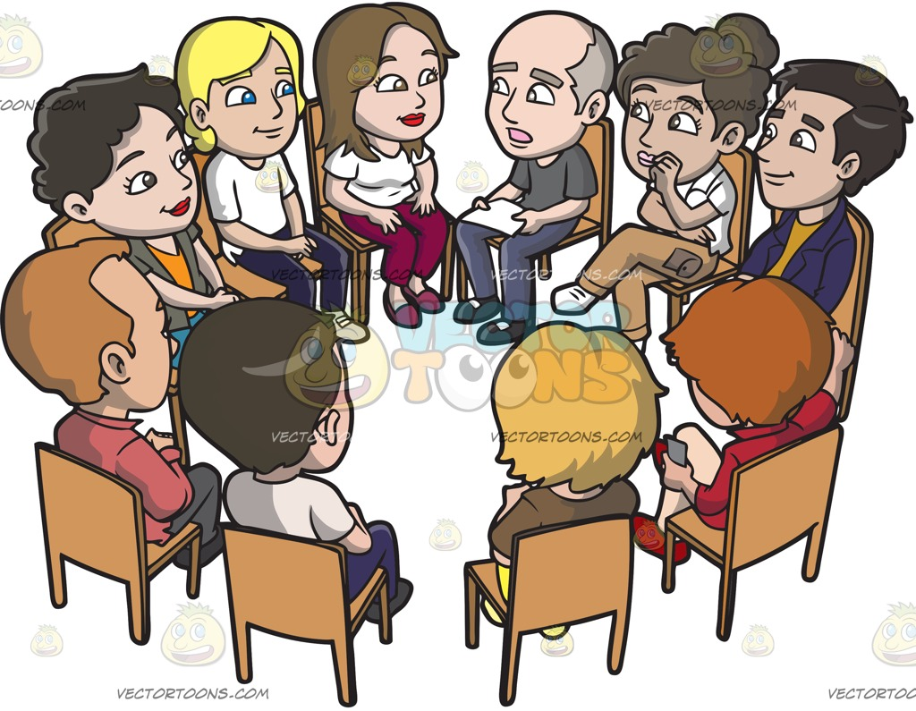 Free download . Conversation clipart support group
