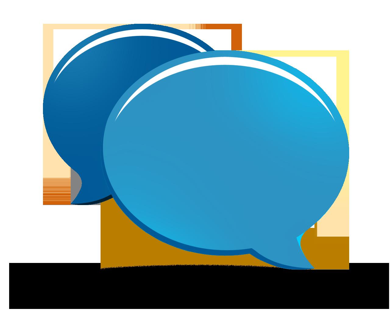 Icon . Conversation clipart transparent background