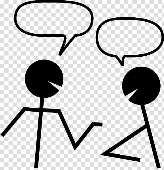 Online chat icon talk. Conversation clipart transparent background