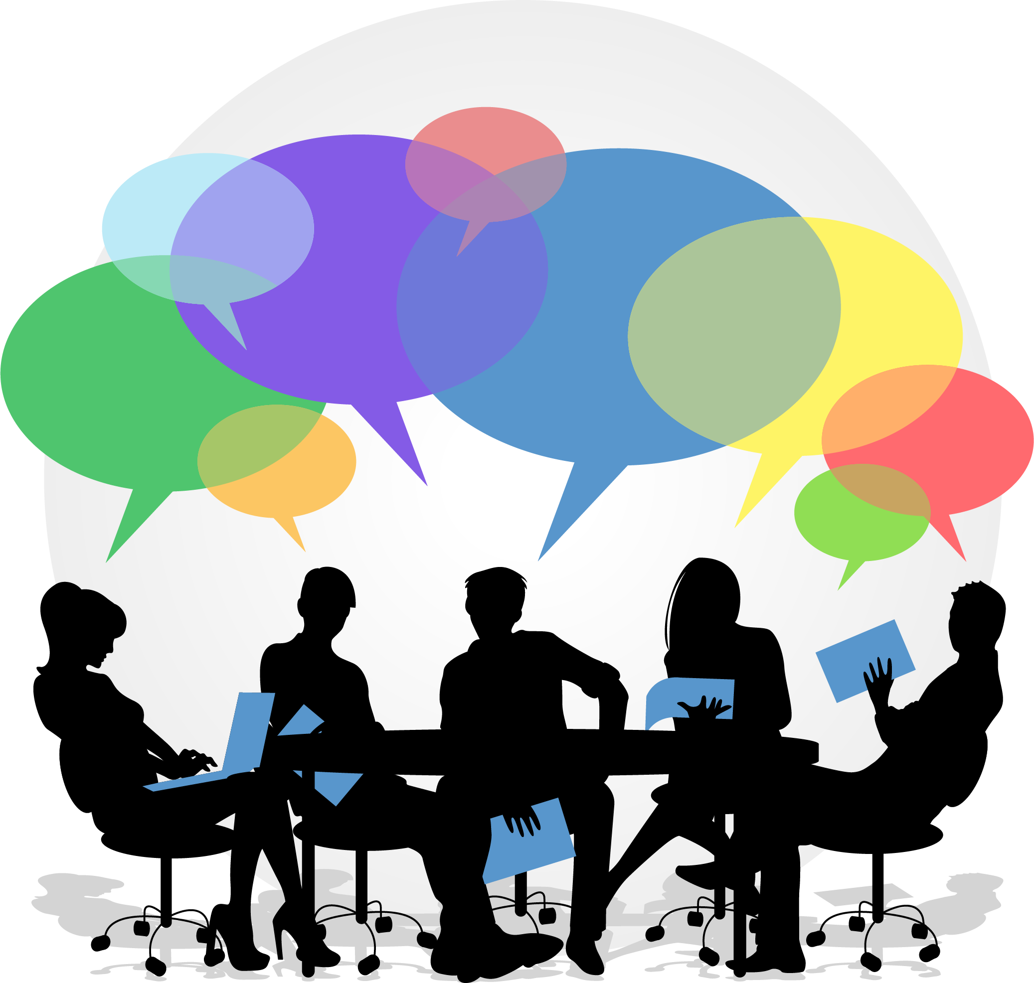 Positive clipart feedback.  collection of conversation