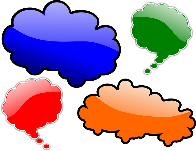 Conversation clipart two way. Parenthetical tips to keep