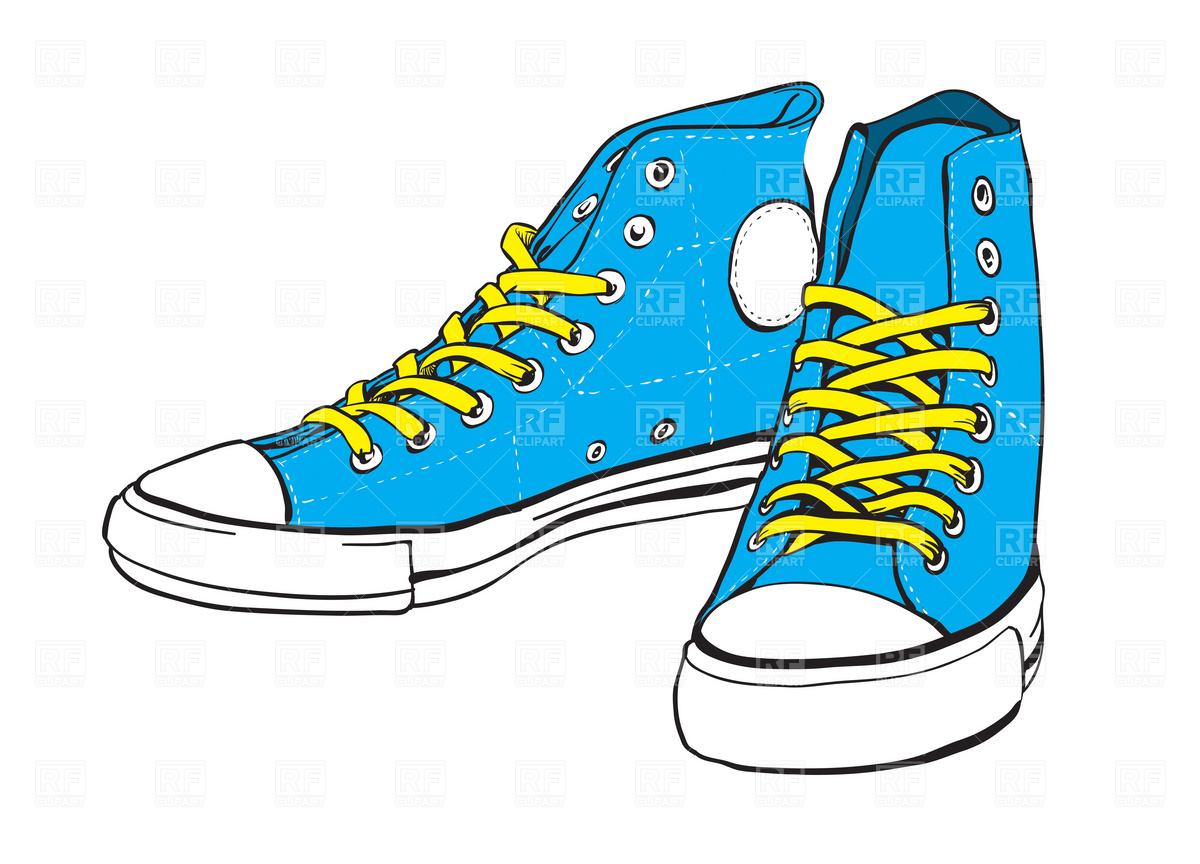 Clip art blue . Converse clipart