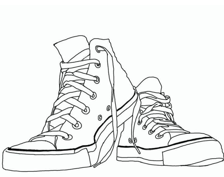 Converse clipart. Chuck taylor sneaker education