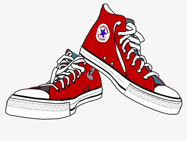 Shoes red classic png. Converse clipart
