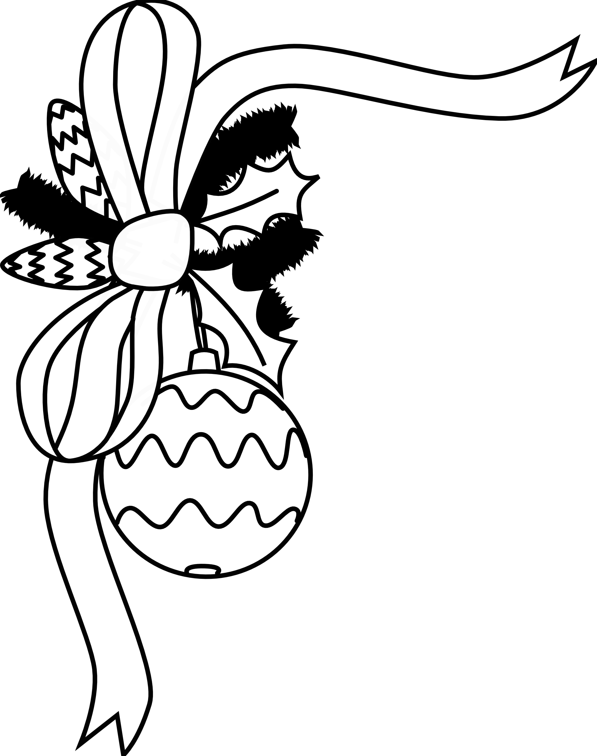 Christmas cookie clip art. Monster clipart black and white