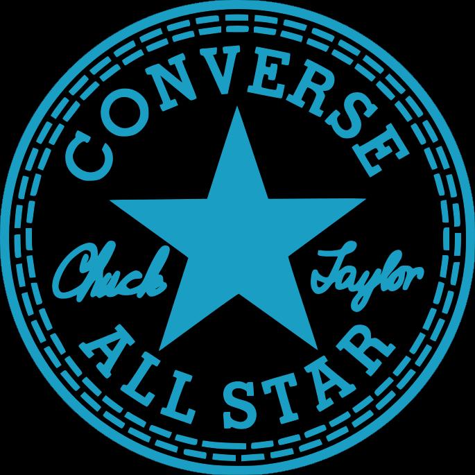 Converse clipart blank. Chuck taylor logo vector