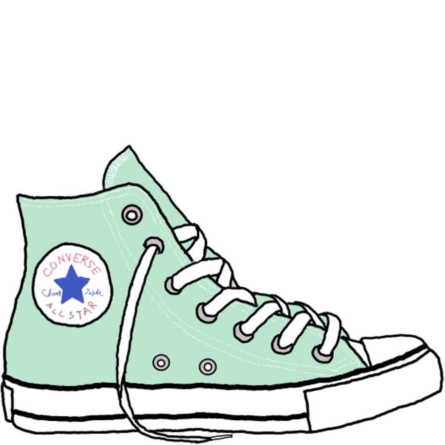 Converse clipart cartoon, Converse