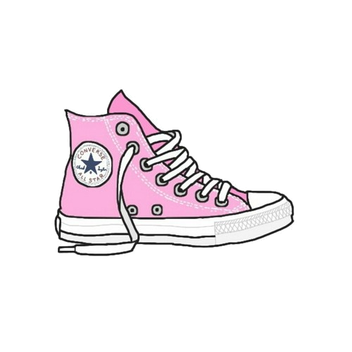 Converse clipart foot wear. Drawing sneakers shoe clip