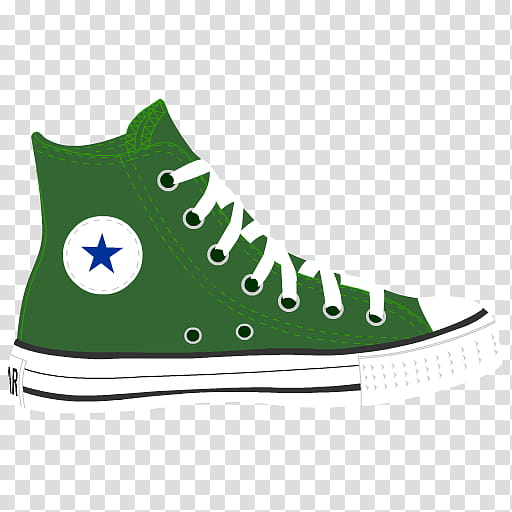 Converse clipart green clipart. And white sneaker illustration