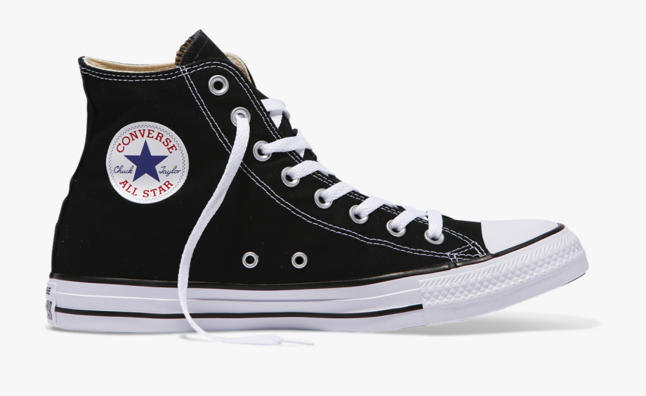 Tops sneakers black and. Converse clipart high top converse