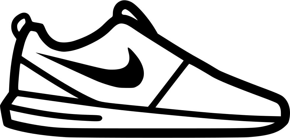 Nike roshe run svg. Converse clipart icon