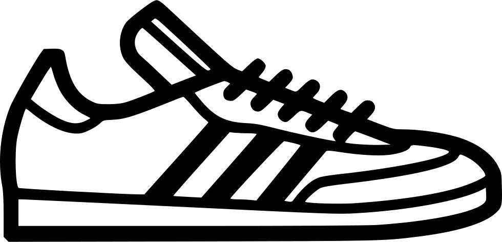 Converse clipart icon. Adidas samba svg png
