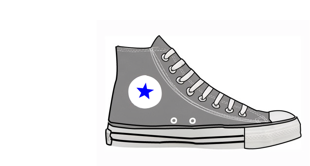 Converse clipart illustration. Illustrator exercise red cup