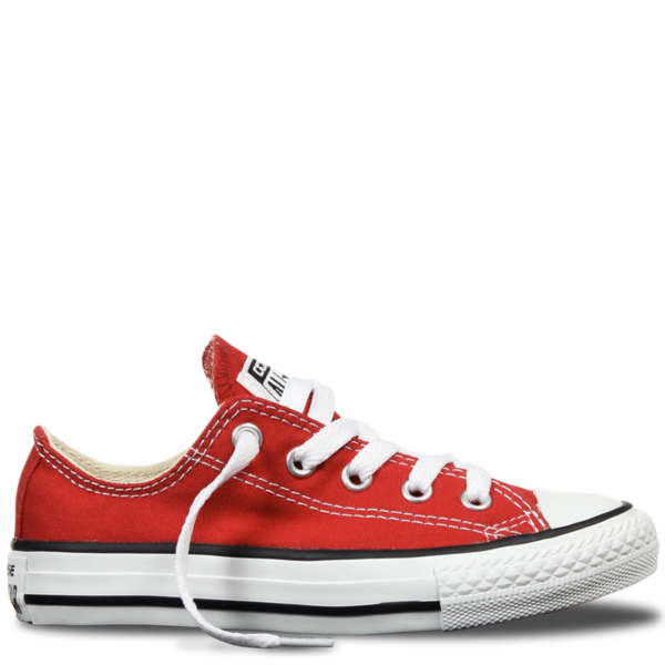 Custom Converse Classic Red Low Tops