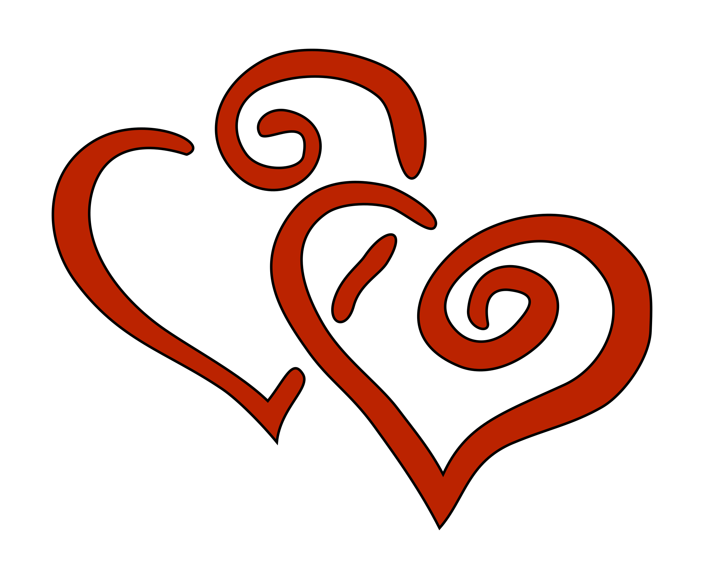 Heart clipart . 2 hearts png