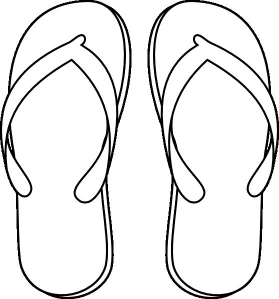 Drawing of a flops. Purple clipart flip flop