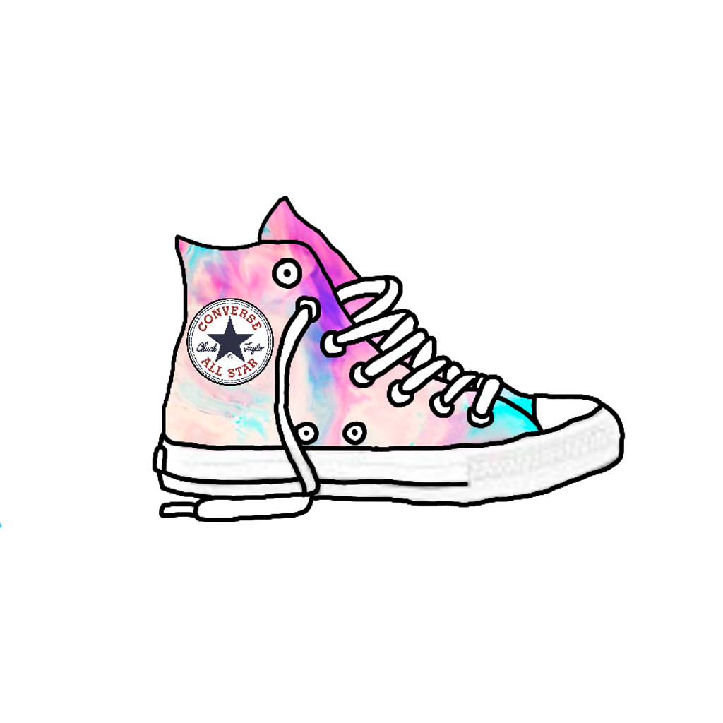 Allstars shoes sneakers runners. Converse clipart shoesclip