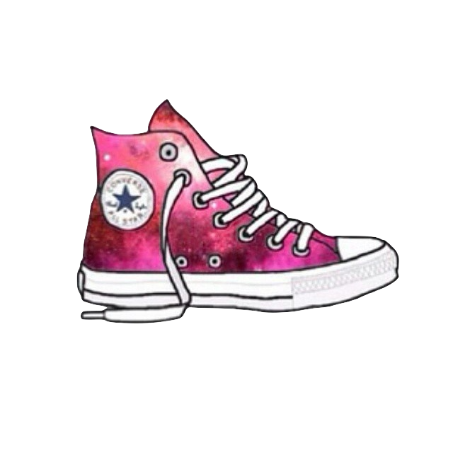Converse clipart template. Pin by leslie alcon