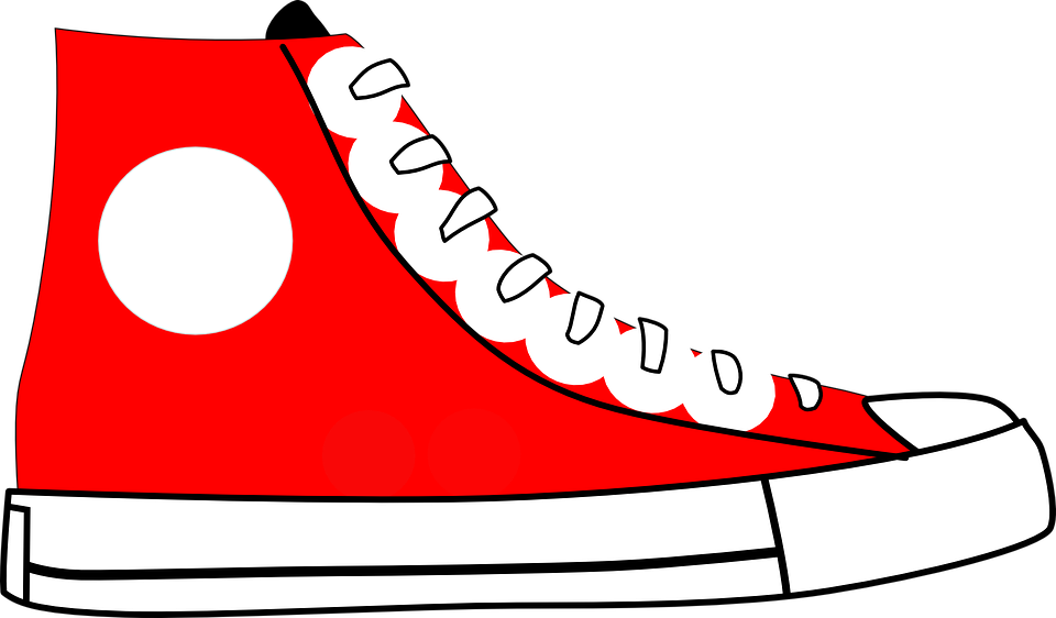 Converse clipart template. Shoe at getdrawings com