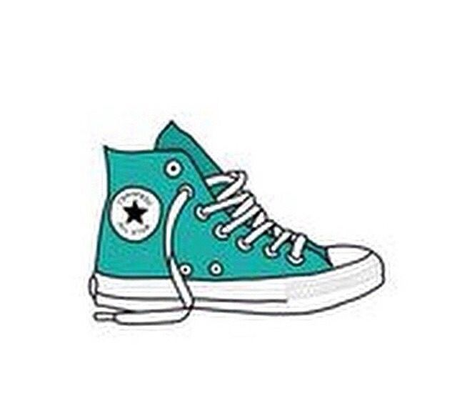 Theme dividers in drawing. Converse clipart tumblr sticker