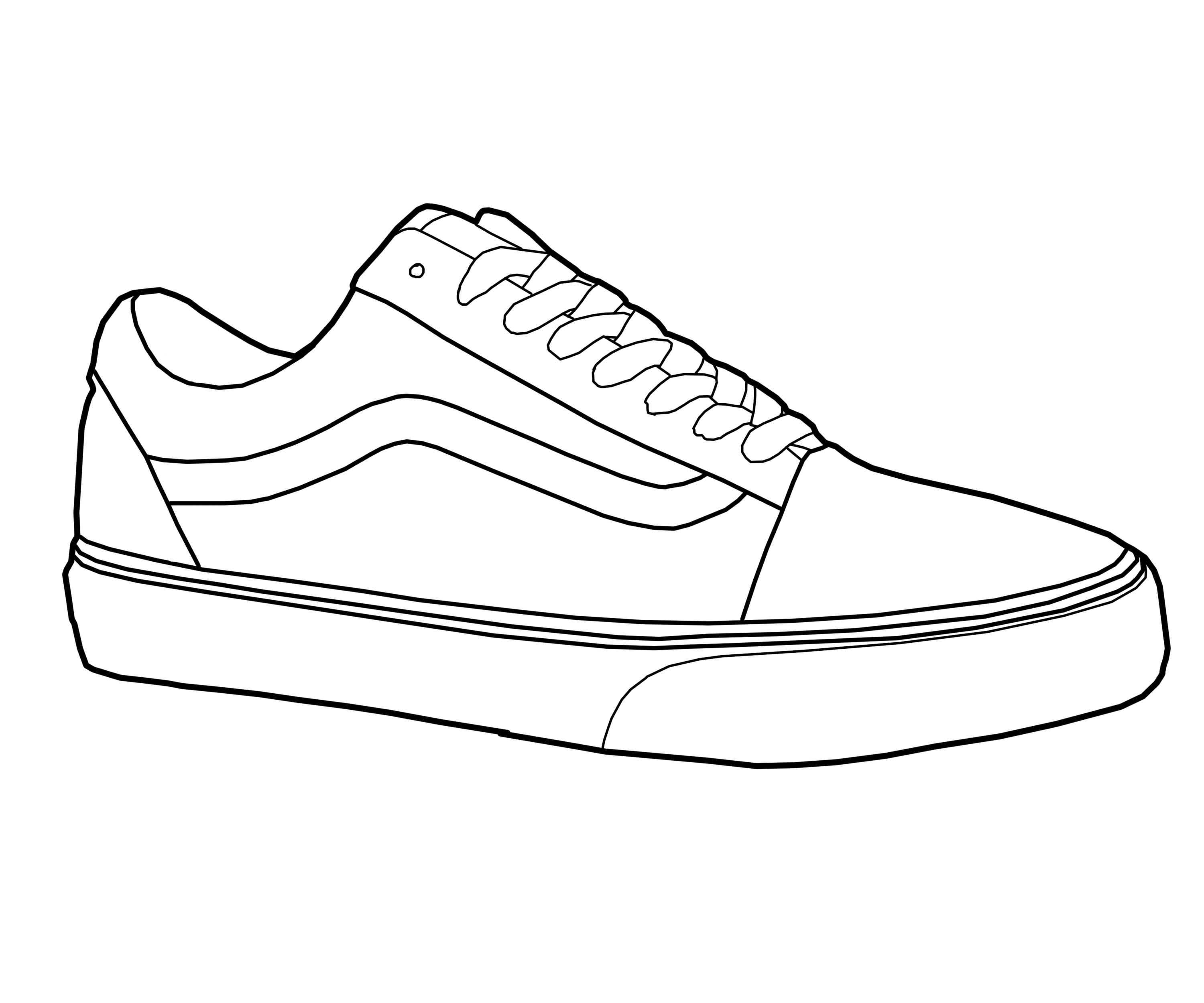 Gym shoes in sneakers. Converse clipart vans shoe