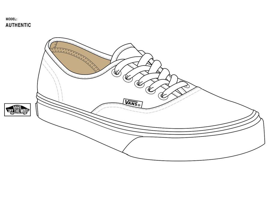 White product design line. Converse clipart vans shoe