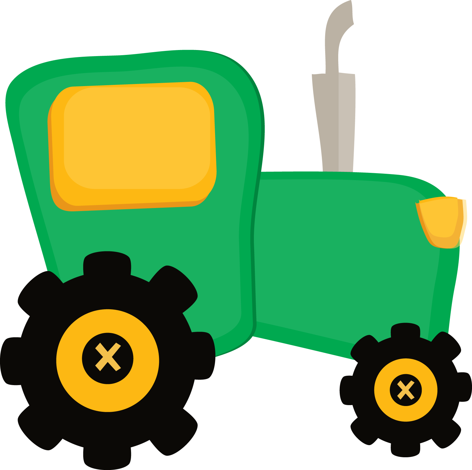 Backhoe clipart cute. Yellow converse sneakers tractor