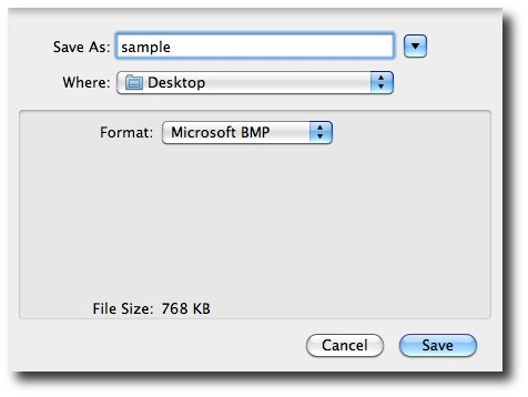 Convert images to png. Macos how bmp jpeg