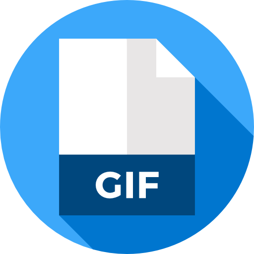 Convert images to png. Your file gif now