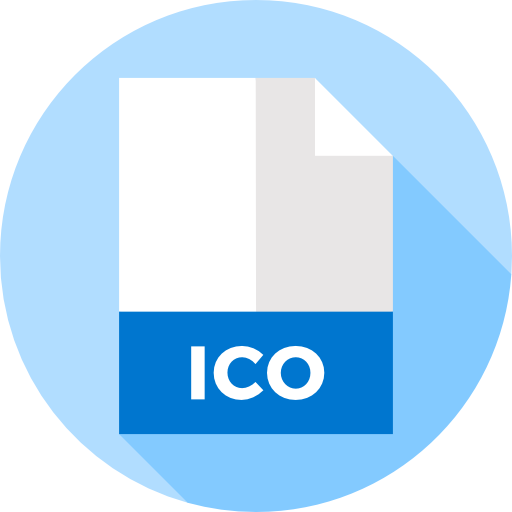 Your file ico now. Convert images to png
