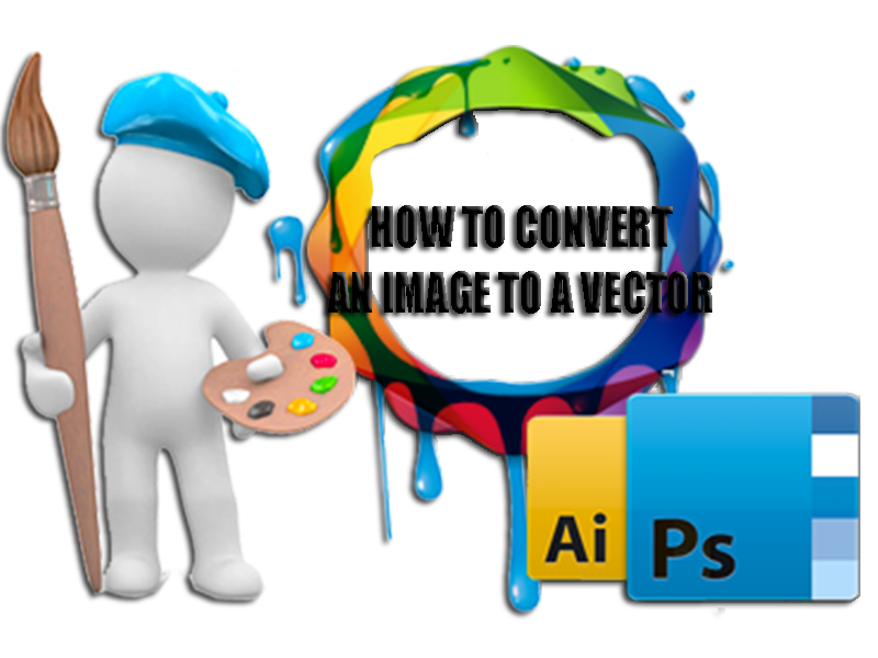 Convert png to vector. How an image a
