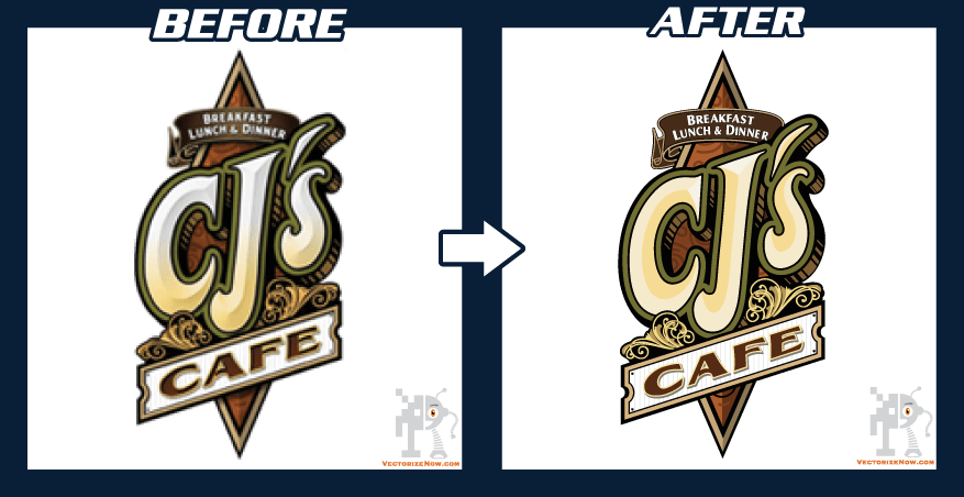 Converting png to vector. Samples logo design conversion