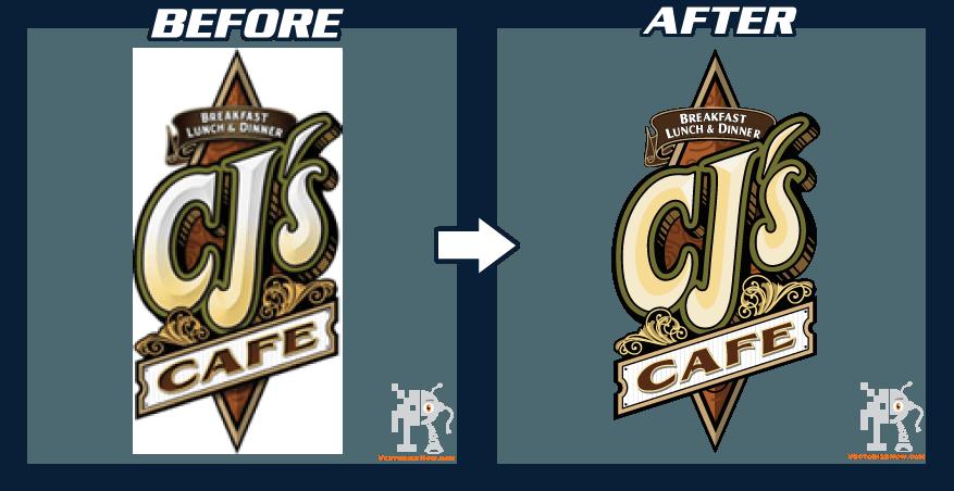 Converting png to vector. Samples logo design conversion