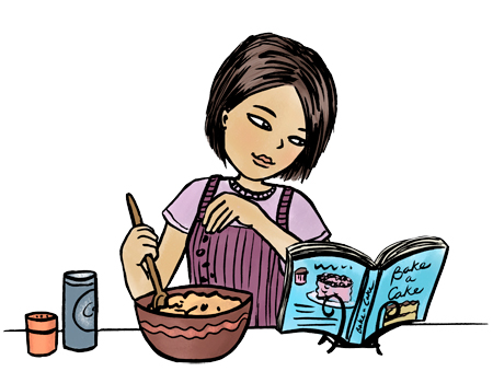 Panda free images cookclipart. Cookbook clipart cooking show