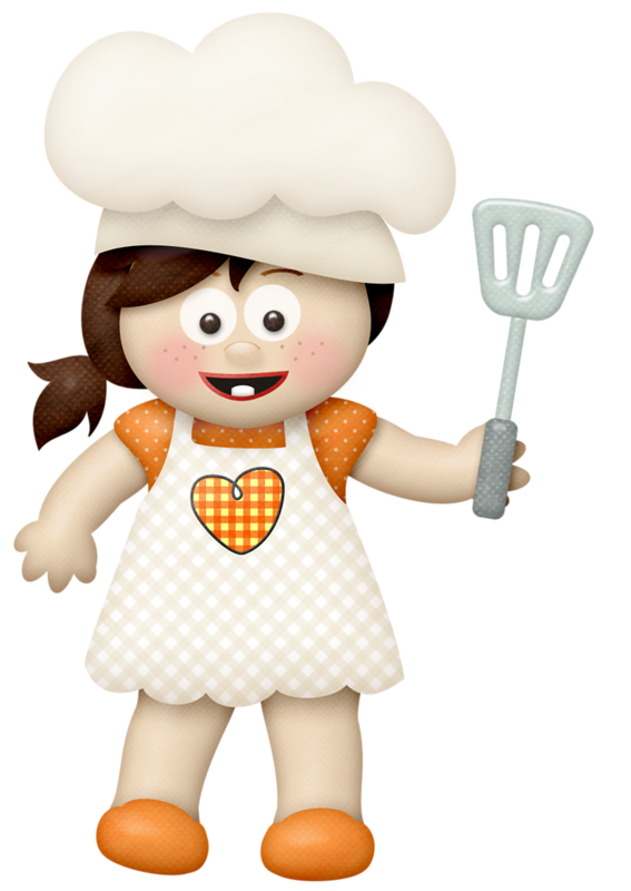 Cookbook clipart chef outfit. Lliella homecookedmeal girl a