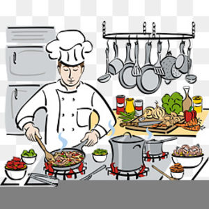 Free chef cooking images. Cook clipart cheef