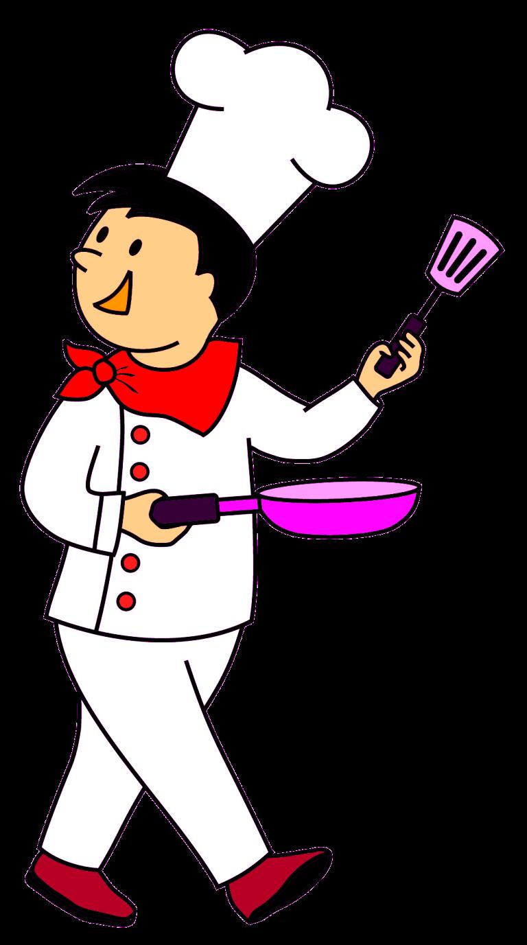 Cuisine clip art transprent. Cooking clipart chef italian